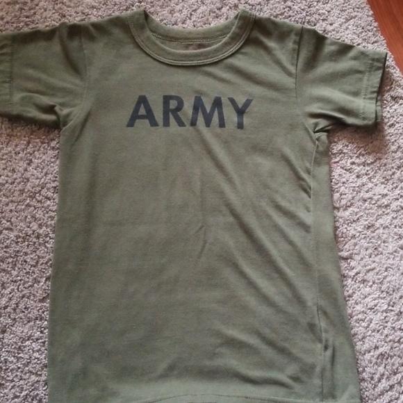 dfaf2607b rothco kids Shirts & Tops | Boys Army Tee | Poshmark